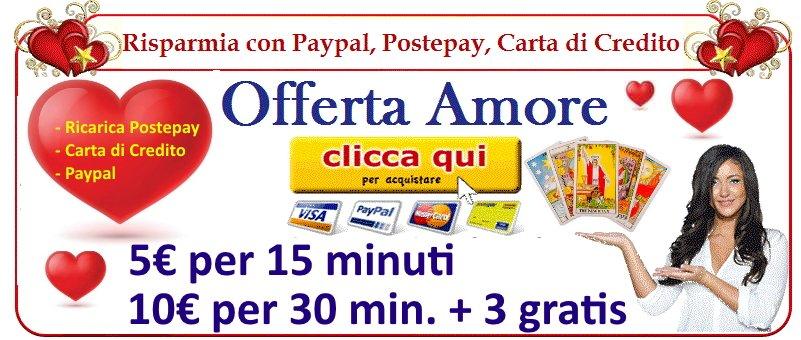 Tarocchi online offerta